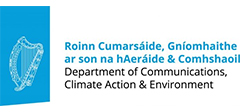 Department of Communications, Climate Action and Environment logo